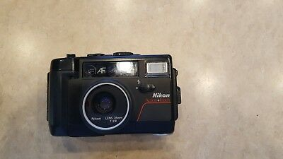 Nikon Action Touch 35mm Camera (35mm f/2.8 AF Lens)(Waterproof to 10 ft)
