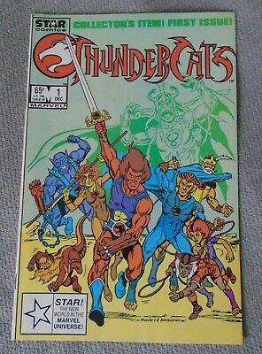 Star Comics *** Thundercats  *** # 1 (First Issue) - Comic Book
