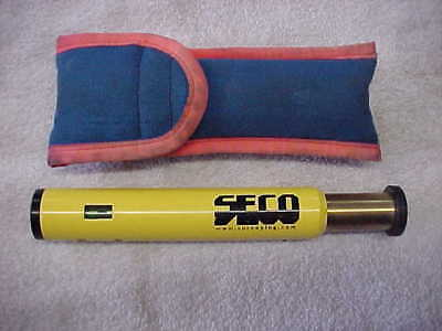 SECO Hand Lock Level, 2X, 6-7in 4200-00 Internal Vial Yellow w Carrying Case