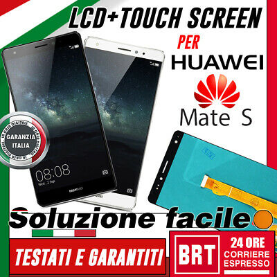 Display Lcd+Touch Screen Per Huawei Mate S Originale Crr-L09 Crr-Ul00 Tl00 Vetro