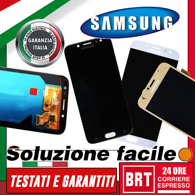 Lcd+Touch Screen Per Samsung Galaxy J7 2017 Sm-J730F J730 Vetro Display_24H!!