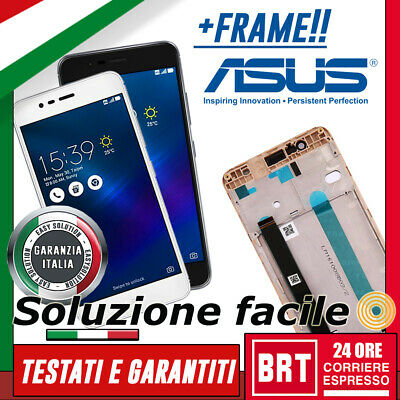 Lcd+Touch Screen + Frame Asus Zenfone 3 Max Zc520Tl X008D Display Schermo + Kit