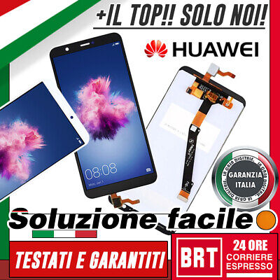 Lcd+Touch Screen Huawei P Smart Fig-Lx1 Lx2 Lx3 Display Schermo Vetro_Brt 24H!!