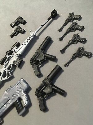 marvel legends accessories 10 Gun Lot