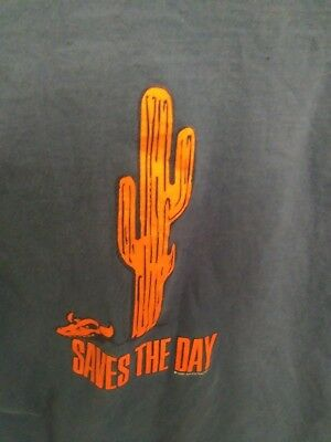 Saves The Day Tshirt size medium Vintage 90s Band Shirt