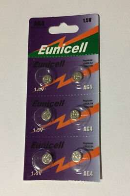 1 - 6pack New AG4 377A 377 LR626 SR626SW SR66 G4 376 Card 1.5V Alkaline Battery