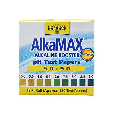 Natural Balance AlkaMax pH Test Paper 15ft each Exp 04/2019