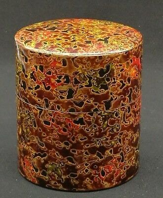 Japanese Tsugaru  Tea CADDY /Copper/Tea Container
