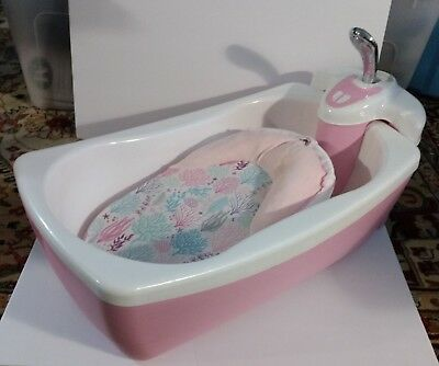 Pre-Owned Summer Infant Lil' Luxuries Whirlpool, Bubbling Spa & Shower