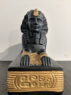 Egyptian Sphinx Statue  of Spiritual Significance Resin & Stone Heavy Statue