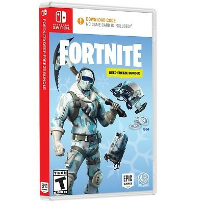 Fortnite: Deep Freeze Bundle (Xbox One, PS4, Switch available)