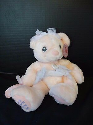 Precious Moments Hugs for the Soul Bear ~ LORD KEEP ME ON MY TOES ~ #680850P NWT
