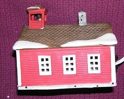 Department 56 New England Village School House 1986