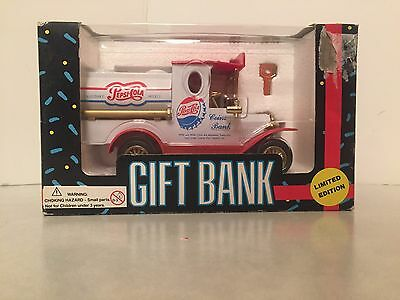 Pepsi - Pepsi-Cola - Gift Bank - Die-Cast - Scale Replica - Rubber Tires