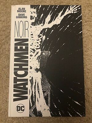 Watchmen Noir by Alan Moore, Very Good, Never Read (2016, Hardcover)