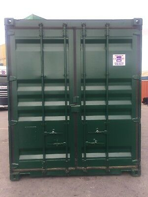 20 foot by 8 foot high cube shipping container in good condition