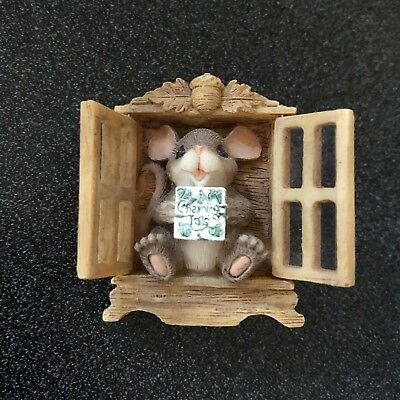 Charming Tails Pin Mouse in Cabinet