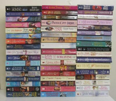 Box Lot of 51 Historical Romance Novels (paperback books)