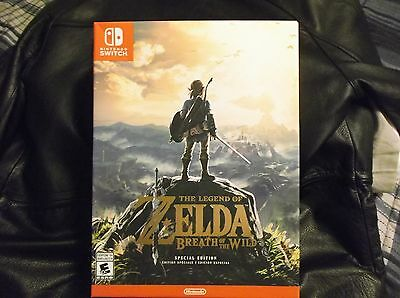 The Legend of Zelda: Breath of the Wild Special Edition for Nintendo Switch New