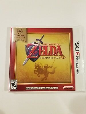 Nintendo 3Ds Game The Legend Of Zelda Ocarina Of Time Brand New And Sealed-Link