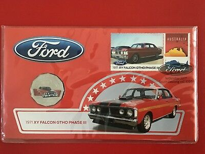 New 2017 Ford 1971 XY Falcon GTHO Phase III - 50 Cent Coin PNC Australia