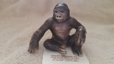 Hagen Renaker Gorilla Figurine Miniature Collect Gift New Free Shipping 03015