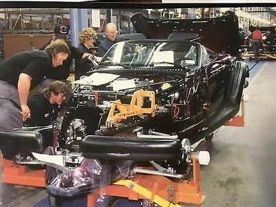1997 Plymouth Prowler Early Final Assembly Detroit, Michigan 12X18 Photo Poster