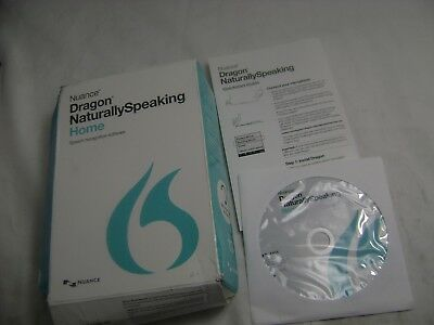 Nuance Dragon Naturally Speaking Home 13 Version  NEW IN OPEN BOX NO HEADSET