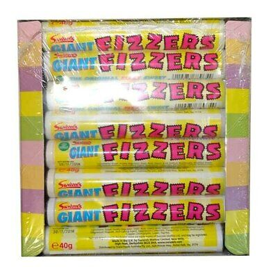 Swizzels Giant Fizzers (24 Roll Display Unit)