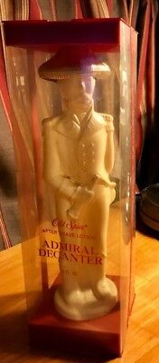 OLD SPICE ADMIRAL DECANTER Limited Edition AFTER SHAVE LOTION 6 OZ - In Box