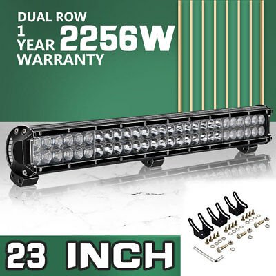 """23INCH 2256W LED LIGHT BAR SPOT FLOOD Fit OFFROAD 4X4WD TRUCK Chevy 22"""" 20"""""""