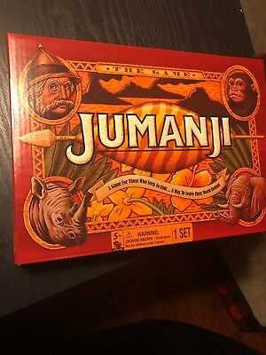 Jumanji the Game Play Anywhere Edition (Travel Size) - Cardinal Games