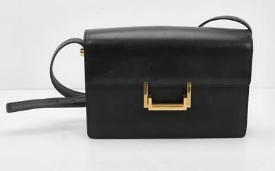 5fc4f4d04b SAINT LAURENT YSL Cuir Noir M Lulu Sac Carrée or Sac à Main - EUR ...