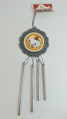 1996 Mary Engelbreit Sow Good Services Sweet Remembrances Wind Chime - Carson