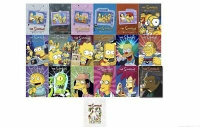 The Simpsons Complete Series Seasons 1-18 + 20 Ultimate Collection DVD Set