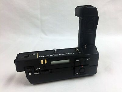 【100% MINT】Olympus Motor Drive 2 + Ni-Cd Control Pack 2 + Charger 1, with boxes