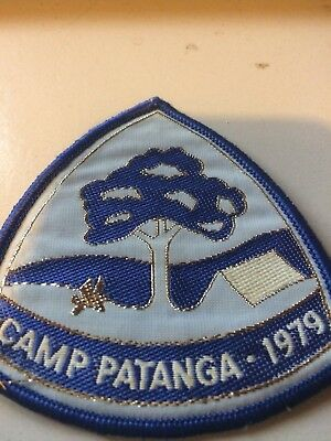 Girl Guides / Scouts Camp Patanga 1979