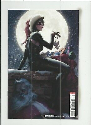 """Catwoman #6 (2018) Stanley """"Artgerm"""" Lau Variant Cover (VF/NM) condition"""
