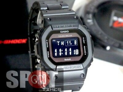 Casio G-Shock Tough Solar Multiband 6 Bluetooth Men's Watch GW-B5600BC-1B