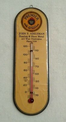 Antique Celluloid Advertising Thermometer- Parisian Novelty Co. 1920's