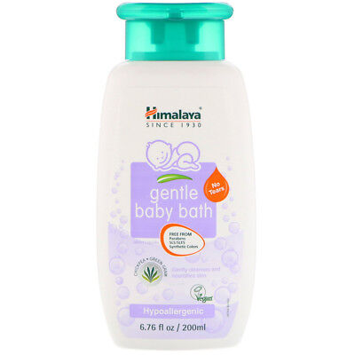 Gentle Baby Bath, Chickpea and Green Gram, Vegan 6.76 fl oz (200 ml) - Himalaya
