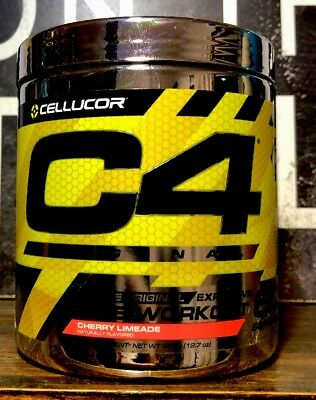 Cellucor C4 Original Pre-Workout iD 60 Servings CHERRY CLUMPY