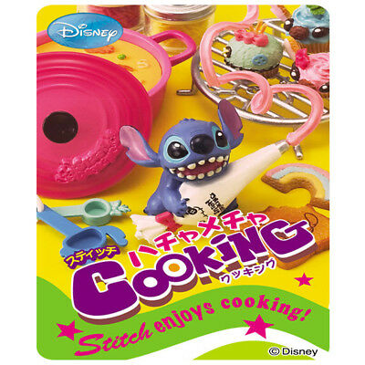 Re-MENT Stitch Enjoys Cooking! Complete Full Set