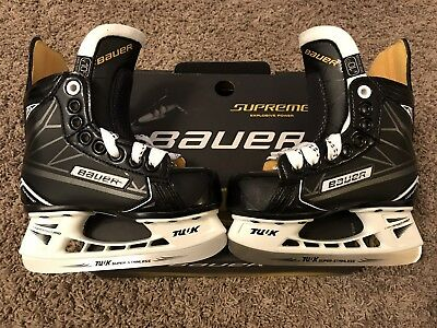 BAUER SUPREME S160 KIDS YOUTH ICE SKATES / Size-Youth 10.0 D (Size US 11.0) NIB