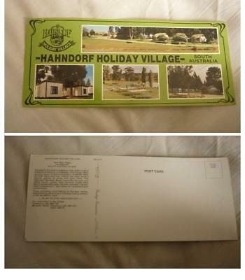Old Australian Postcard, Hahndorf South Australia, The Holiday Village