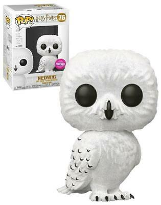 Harry Potter - Hedwig Flocked Pop! Vinyl - FunKo Free Shipping!