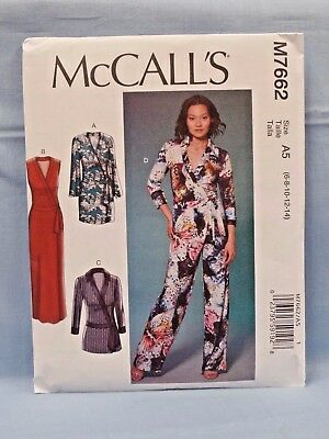 Lovely OOP McCALLS 7705 MS Jumpsuits /& Rompers PATTERN 8-10-12-14-16-18-20 UC
