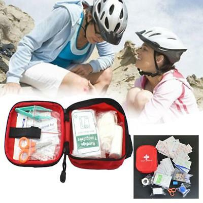 120pcs/pack Safe Travel First Aid Kit Camping Hiking Medical Emergency Kit Pack
