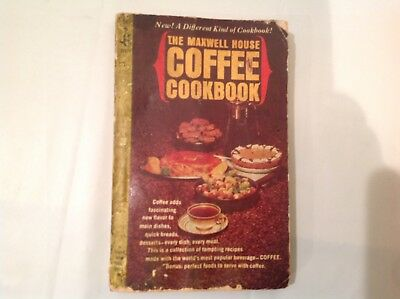 Vintage 1964 Maxwell House Coffee Cook Book