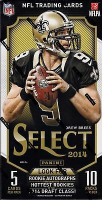 2014 Panini Select Football Factory Sealed 14 Hobby Box Case
